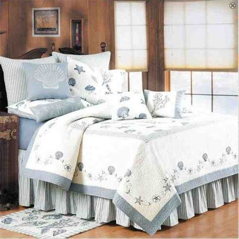 nautical coverlets buy treasures by sea blue coastal nautical quilt king