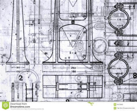 make a blueprint old blueprints stock photo image of design vintage