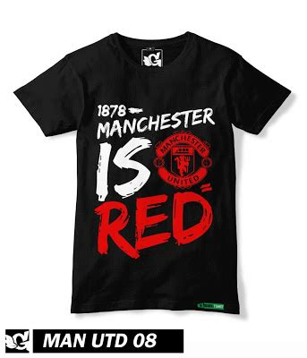 Kaos Mu Glow In The United Manchester United Re fanatees