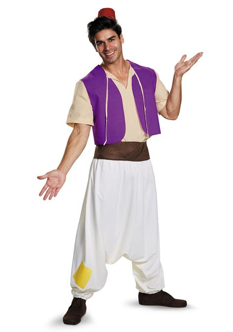 halloween costumes aladdin costume for men