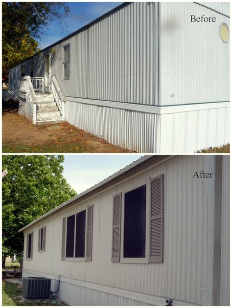 painting a mobile home exterior colors pics studio