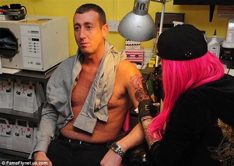 christopher meloni tattoo x factor s christopher maloney gets in memory