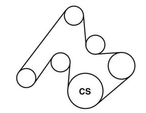 bmw xi serpentine belt diagram