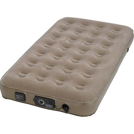 insta bed standard air bed with neverflat ac walmart