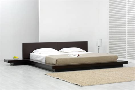 contemporary platform bedroom sets temptation chocolate platform bed at gowfb ca bedroom