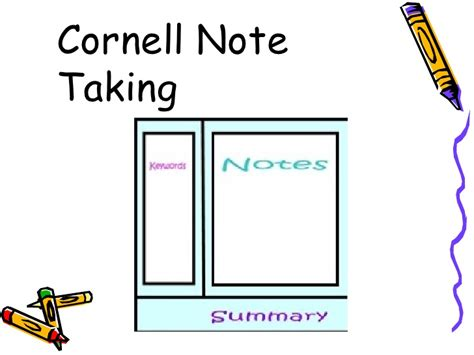 taking notes 5 college success tips jerzs literacy weblog cornell notes