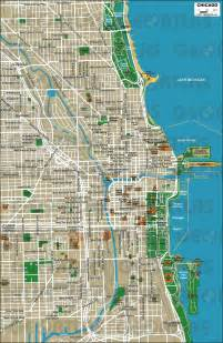 Chicago Map Pdf by Geoatlas City Maps Chicago Map City Illustrator