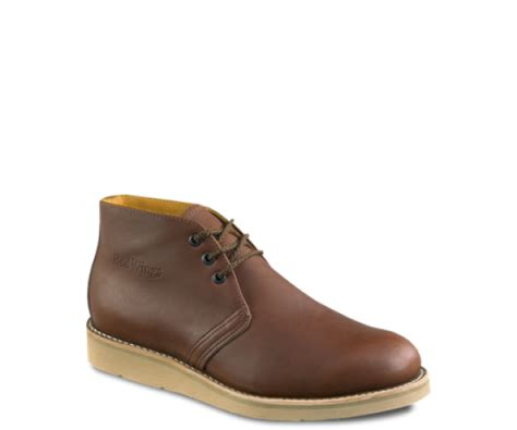 Promo Sneakers Terbaru Sepatu Boots Safety Moofeat Original Distro Ba 595 wing s chukka brown www esemessafety