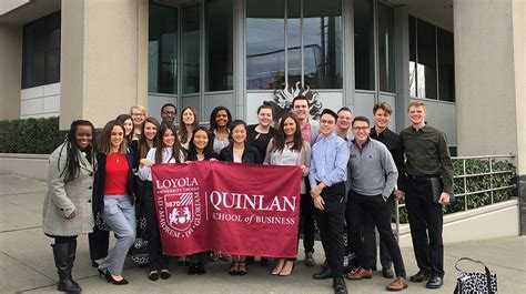 Quinlan Mba Masters In Accounting by Quinlan School Of Business Loyola Chicago