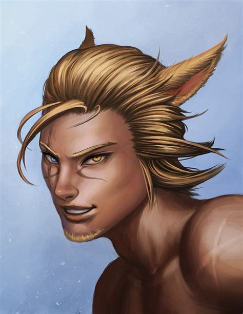 ffxiv all new hairstyles 3 0 ffxiv male miqo te hairstyles the best hair of 2018
