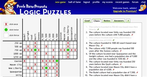 printable logic puzzles baron logic puzzles portfolio categories puzzle baron