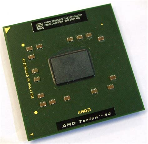 Amd Sockel 754 by Tmdml34bkx5ld Amd Turion 64 Mobile Ml 34 Socket 754 Processor Ebay