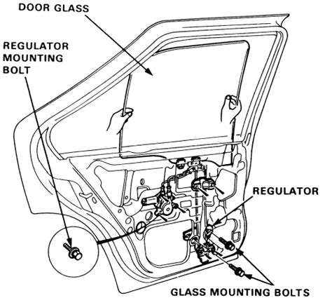 service manual 1993 chrysler lebaron door window removal how to remove and install a door