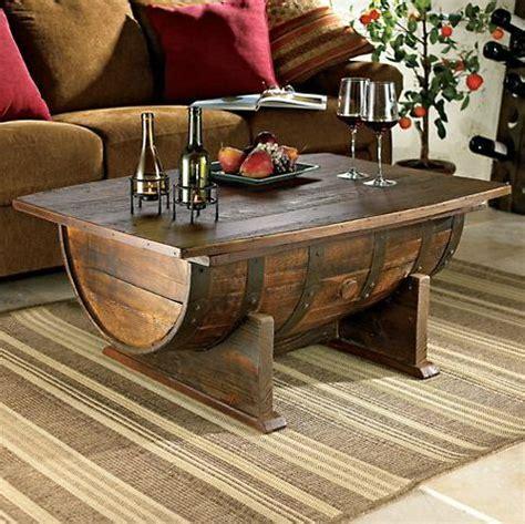 Whiskey Barrel Fire Pit vintage oak whiskey barrel coffee table