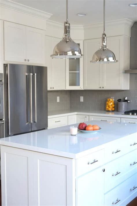 Luxe Cabinets by From Construction Grade Oak To Industrial Luxe White Cabinets