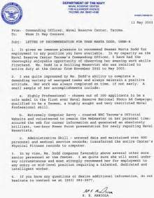 Recommendation Letter Navy Letter Of Recommendation Navy Recommendation Letter