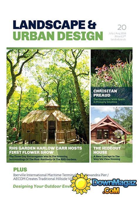 urban design journal pdf landscape urban design issue 20 july august 2016