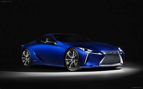 lexus lf lc blue lexus lf lc blue concept 2012 widescreen car photo