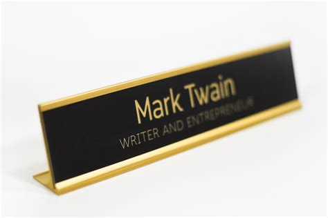Engraved Office Signs Custom Office Signs Wall Or Door Desk Signs For Office