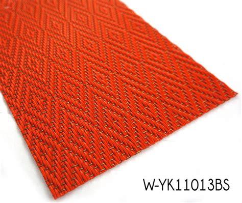 stripe pattern woven vinyl rugs with wear resistant