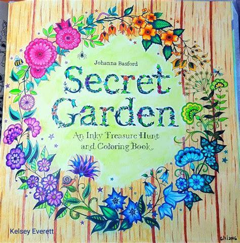 secret garden colouring book cover my version of johanna basfords secret garden cover