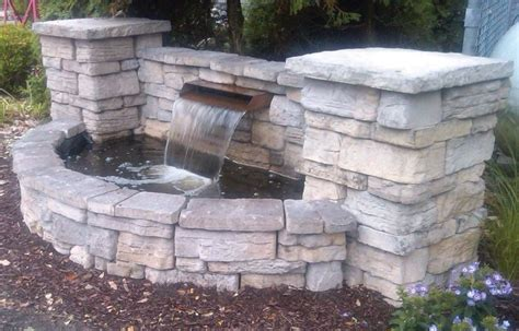 brick double basin small waterfall double click on above