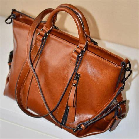Coach Backpack Brown Leather Tas Coach Original fashion handbag shoulder bag tote purse leather