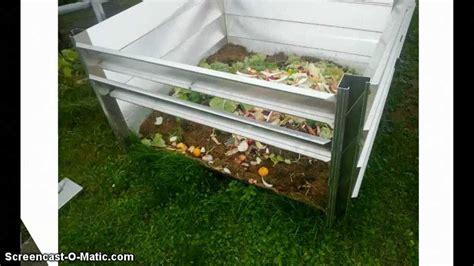 haus und gartenwelt metall komposter aus aluminium www haus gartenwelt