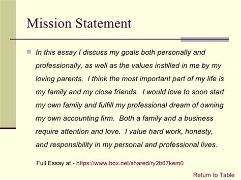 On Mission And Leadership essay my friends
