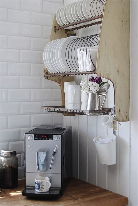 Wall Hang Dish Rack hanging dish rack with mug hooks on bottom we would need