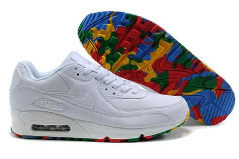 colorful air max 90 nike air max 90 white colorful bottom