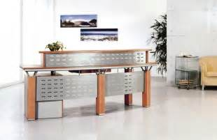 glass reception desks for your office