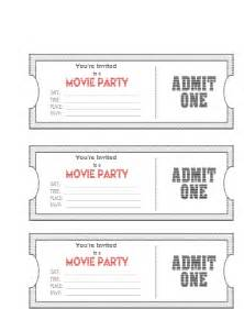 admit one ticket invitation template admit one template masir