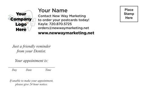 Dental Recall Card Templates by Dental Postcards Dentist Marketing Recall Cards Custom