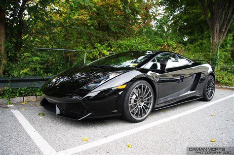 Lamborghini Black On Black Lamborghini Gallardo In Black Auto Car