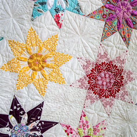 dahlia pattern review star dahlia vintage quilt pattern jiggystick