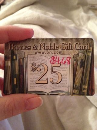 Bn Gift Card Balance - free barnes noble gift card 4 68 balance gift cards listia com auctions for