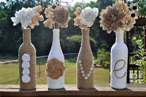 Upcycling Glass Jars - wine bottle crafts the yes girls