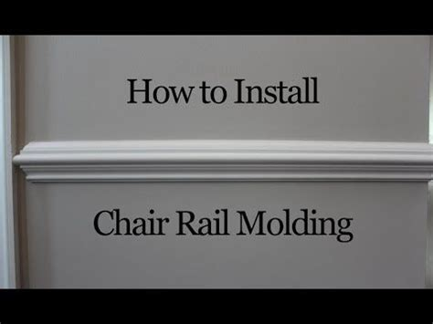 how to install chair rail best 25 chair rail molding ideas on
