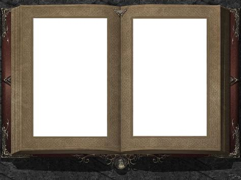 book picture frame open book frame transparent frames open
