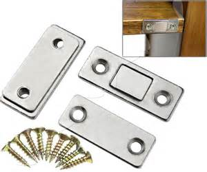 Cabinet Door Magnets 2 X Ultra Thin Door Catch Latch For Furniture Magnetic