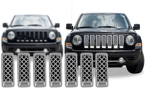 chrome jeep patriot jeep patriot chrome grill inserts images
