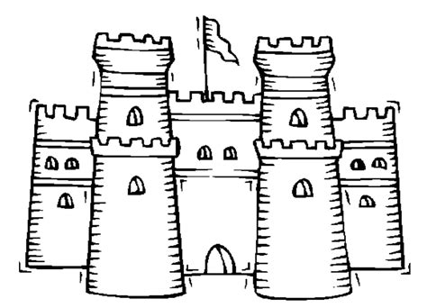 Free Printable Castle Coloring Pages For Kids Coloring Home Printable Pictures For Colouring L