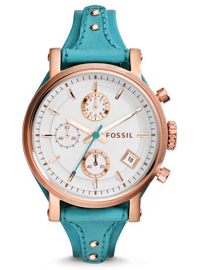 Fossil Logan Chronograph Leather Ori fossil original boyfriend chronograph leather fashion s fashion