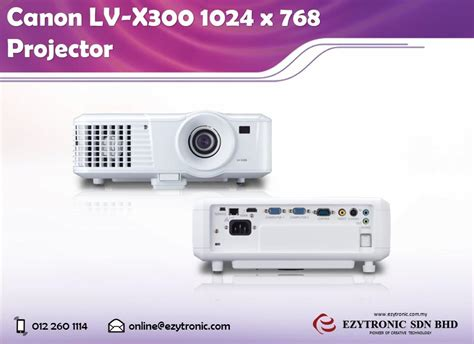 Proyektor Canon Lv X300 Canon Lv X300 1024 X 768 Pro End 4 13 2017 11 15 Am Myt