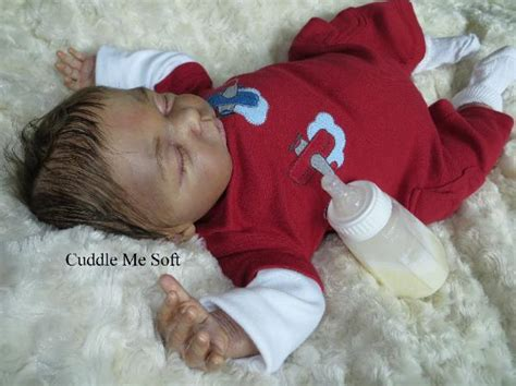 Sleeping For Sale by Realistic Newborn Reborn Baby Hayden Gudrun