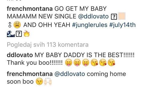 demi lovato biography in french are french montana and demi lovato actually dating