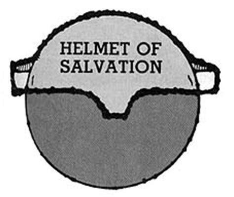 helmet of salvation craft template for friends friend mar 1987 friend