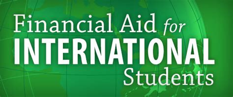 Financial Aid For Mba International Students by Apply For Aid Washington And