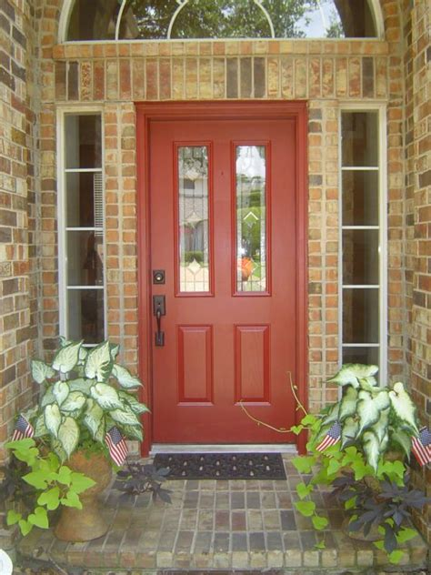 Brick House Front Door Gi Brick Color Front Door Riverscolorworks Design